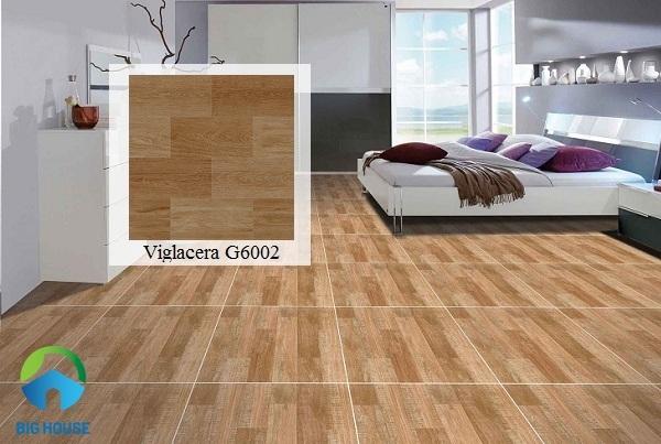 gạch ấn độ giả gỗ lát nền phòng ngủ