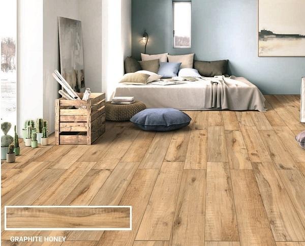 gạch ấn độ giả gỗ lát phòng ngủ ấn độ