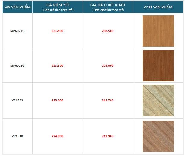 giá gạch giả gỗ mikado