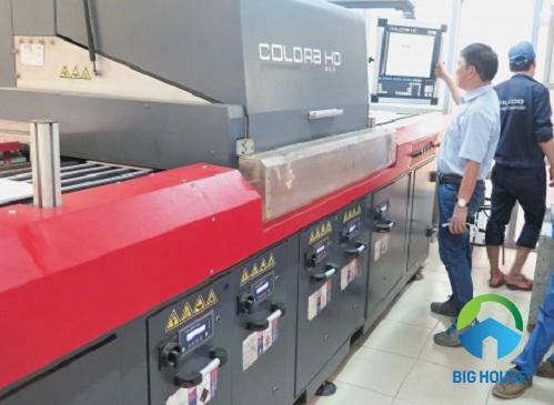 Nhà máy gạch Mikado Thái Bình với dây chuyền sản xuất hiện đại nhất