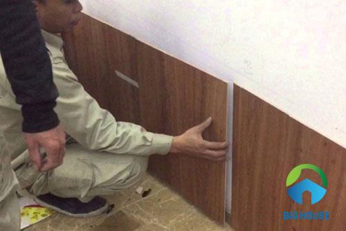 mẫu gạch ốp chân tường phòng khách 3