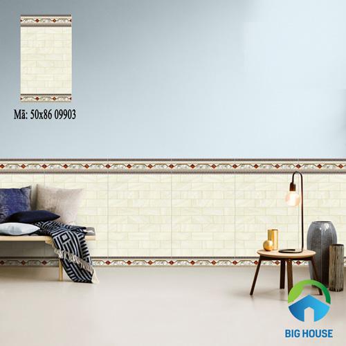 gạch ốp chân tường phòng khách 12