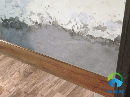mẫu gạch ốp chân tường phòng khách 1