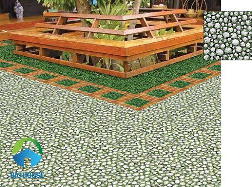 mẫu gạch giả cỏ mikado 2