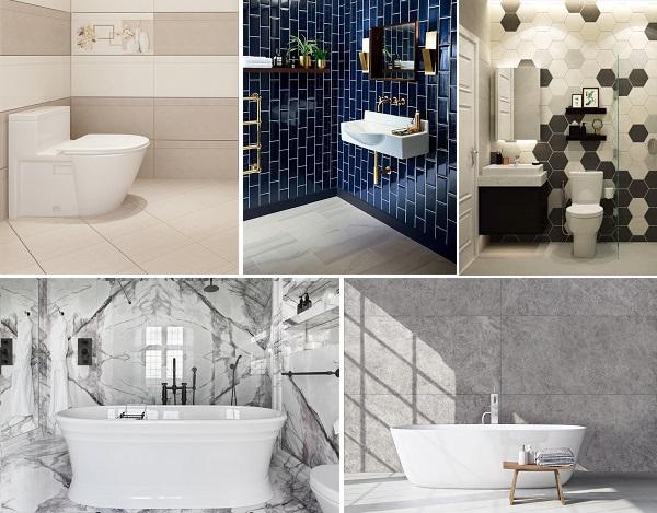 TOP mẫu gạch ốp nhà tắm đẹp và HOT nhất 2020 của Mikado, Viglacera,…