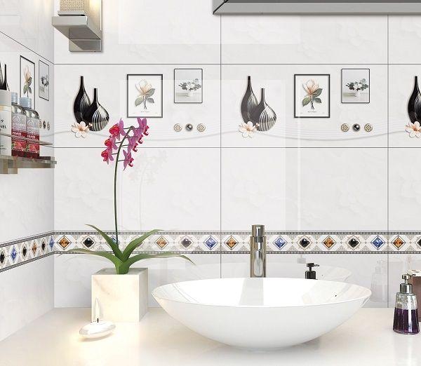 Mẫu gạch ốp tường nhà vệ sinh Ý Mỹ C36021 men bóng giúp dễ dàng vệ sinh hơn