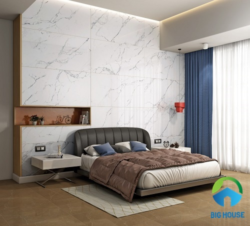 gạch ốp tường phòng ngủ mikado 5