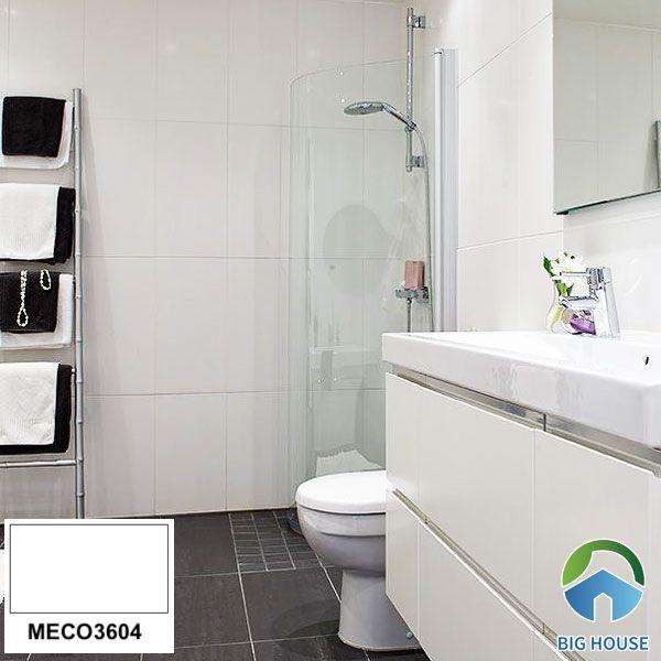 Gạch ốp tường nhà vệ sinh Mikado trắng MECO3604