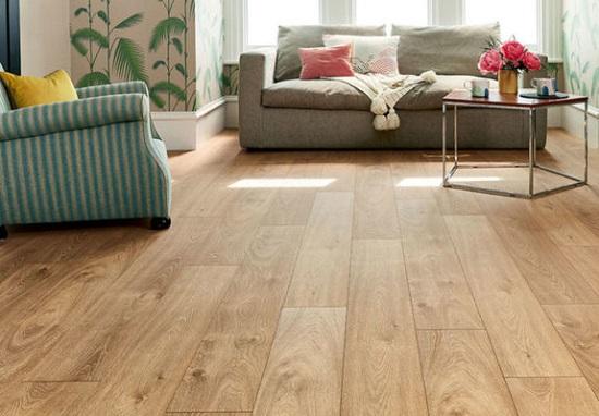 mẫu gạch giả gỗ lát nền phòng khách 11