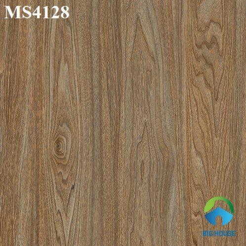 Mẫu gạch giả gỗ lát nền phòng khách đẹp