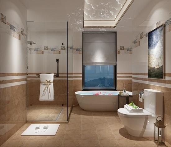 Chọn gạch lát nhà tắm chống trơn tốt