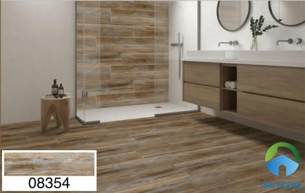 Gạch lát nền nhà tắm chống trơn Prime vân gỗ 08354