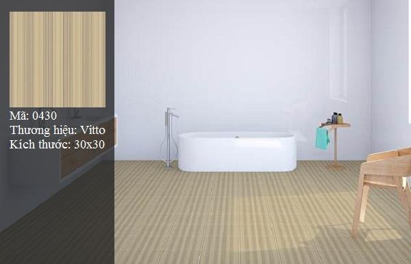 gạch lát phòng tắm vitto