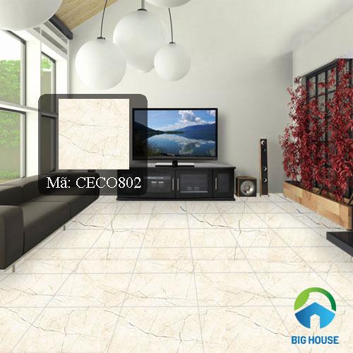 mẫu gạch lát nền phòng khách 7