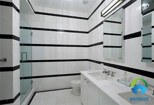 gạch ốp tường màu trắng 13