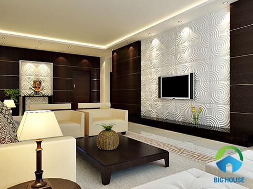gạch ốp tường màu trắng 3