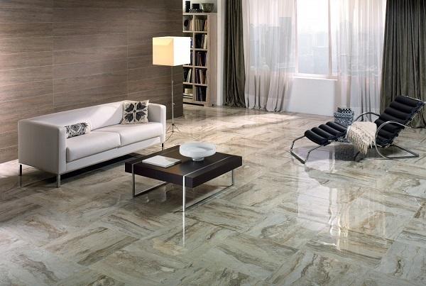 Thiết kế phòng khách theo phong cách cổ điển lại vừa mang nét hiện đại
