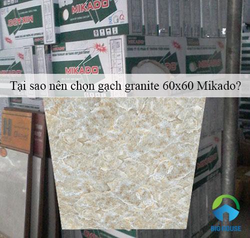 Tại sao nên chọn gạch granite 60×60 Mikado cho công trình của bạn?