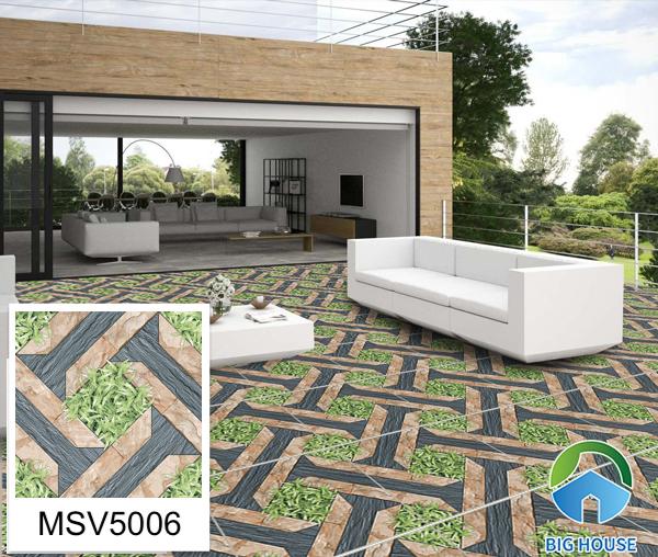 Mẫu gạch lát sân vườn họa tiết gạch vân đá lẫn cỏ Mikado MSV5006 là lựa chọn tuyệt vời với không gian của bạn. Không những mang giá trị thẩm mỹ cao mà với bề mặt định hình thì dòng gạch này còn đảm bảo khả năng chống trơn trượt tốt