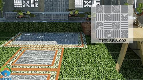 gạch lát sân vườn giá rẻ 5