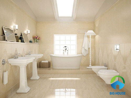 cách phối màu gạch nhà tắm 1