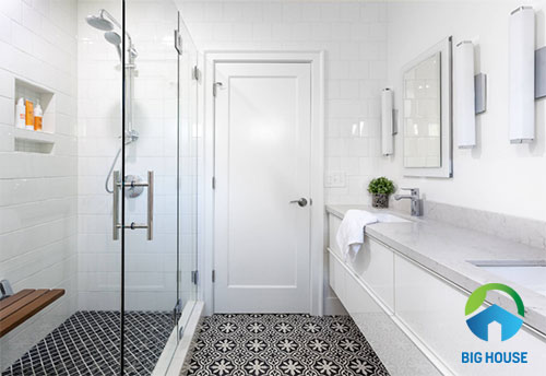 cách phối màu gạch nhà tắm 4