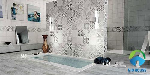 cách phối màu gạch nhà tắm 5