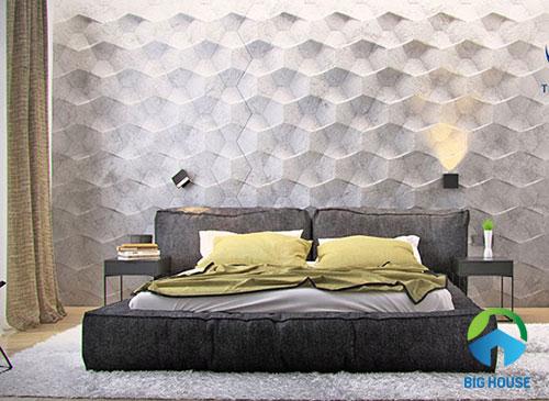 gạch ốp tường phòng ngủ 3D 5