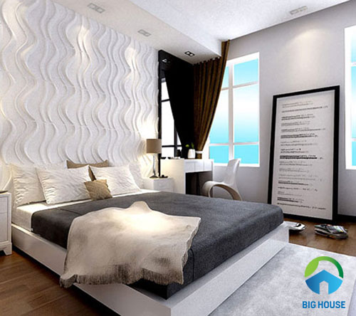 gạch ốp tường phòng ngủ 3D 8