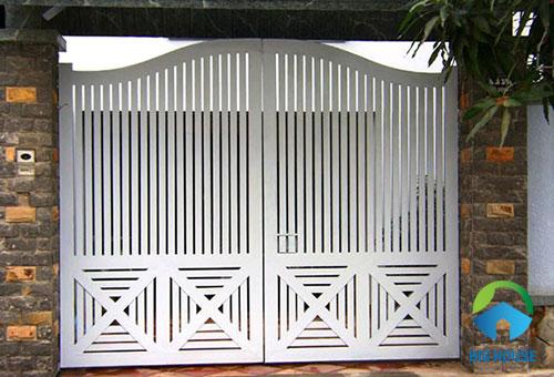 gạch ốp trụ cổng nhà 4