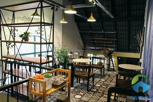 gạch lát sàn quán cafe