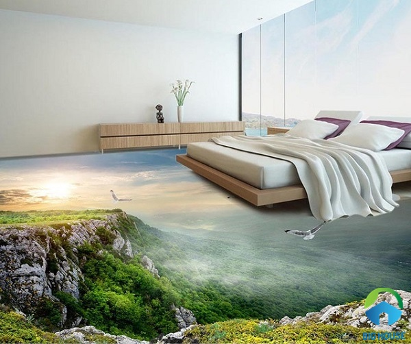 Gạch lát nền 3d phòng ngủ: TOP mẫu đẹp và các kiêng kỵ phải biết