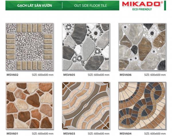 Catalogue gạch Mikado bao gồm những gì? Cập nhật mẫu mới nhất 2020