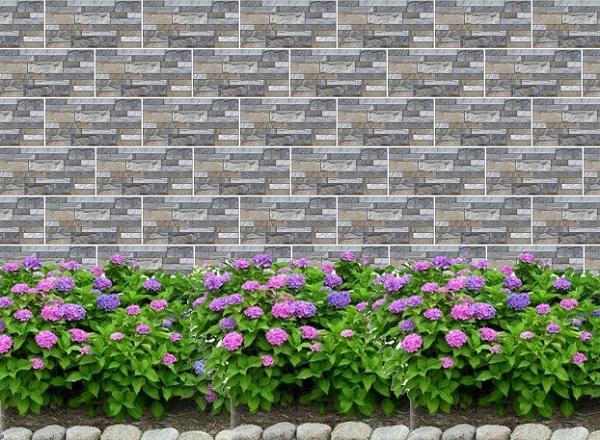 gạch ốp tường mikado 200x400 mã DK2501 ốp tường rào đẹp