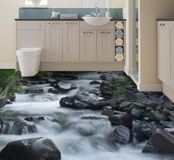 Gạch lát nền nhà tắm 3D: TOP mẫu đẹp kèm bảng giá, cách chọn