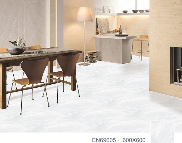 Mẫu gạch ý mỹ EN69005 tông màu xanh nhạt sang trọng