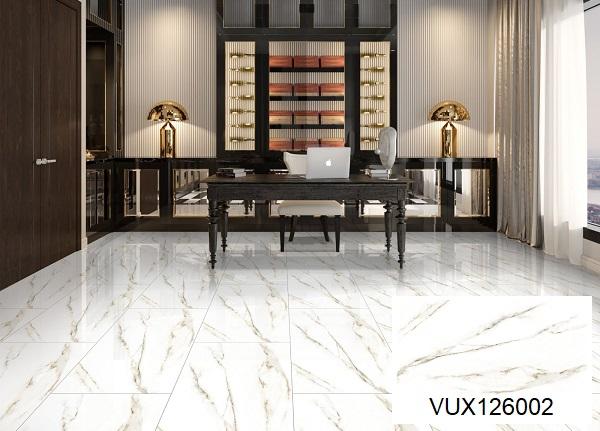 mẫu gạch lát nền nhà khổ lớn vân đá marble VUX126002