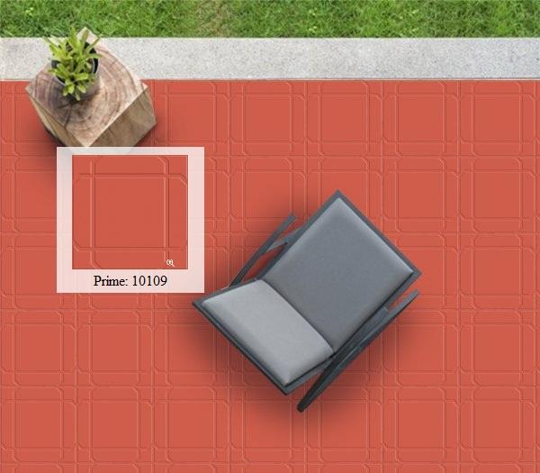 gạch đỏ cotto lát sân prime 10109 thiết kế ấn tượng, độc đáo