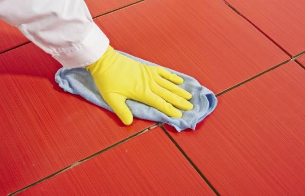 Cách làm sạch gạch đỏ lát sân nhanh chóng và đơn giản nhất