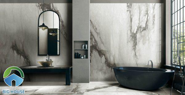 gạch ốp nhà vệ sinh màu xám