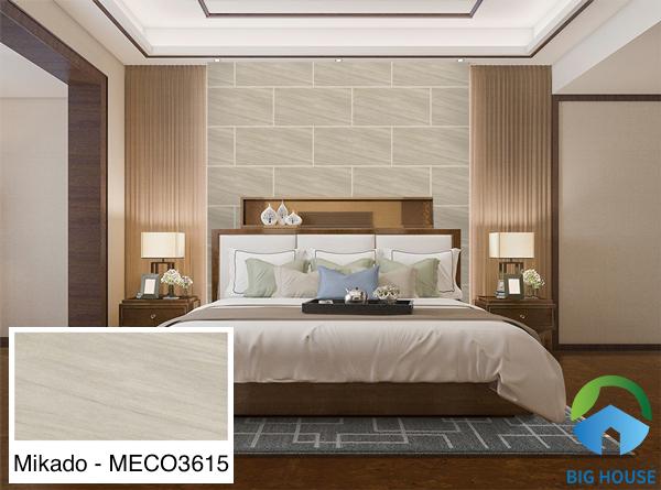 Gạch ốp tường phòng ngủ vân gỗ Mikado - MECO3615