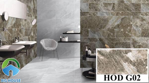 Gạch ốp tường Viglacera HOD G02 họa tiết vân đá to bản sắc nét