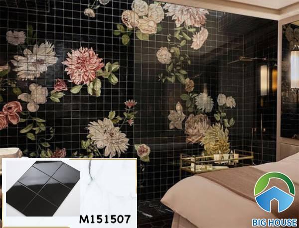 Gạch ốp tường màu đen M151507