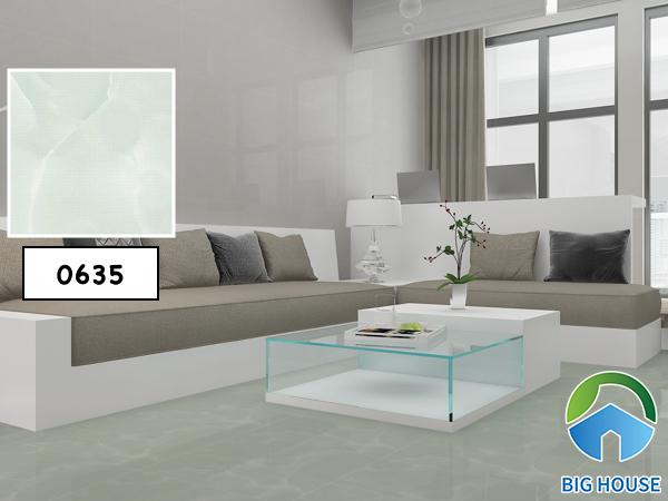 Gạch lát nền Vitto 0635 cho phòng khách thêm hiện đại