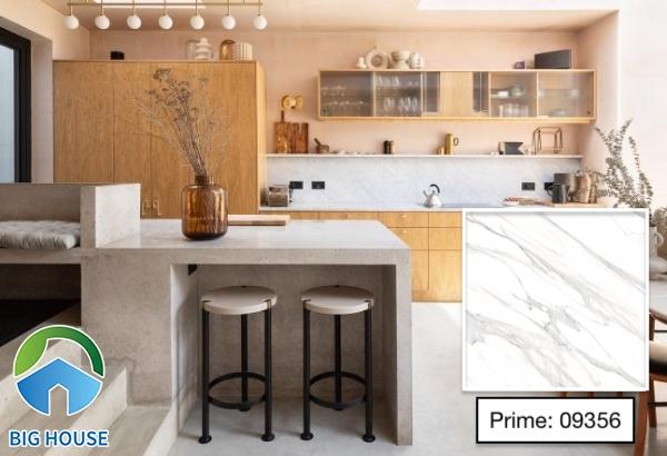 Mẫu gạch giả đá ốp bếp Prime 09356 họa tiết vân đá marble