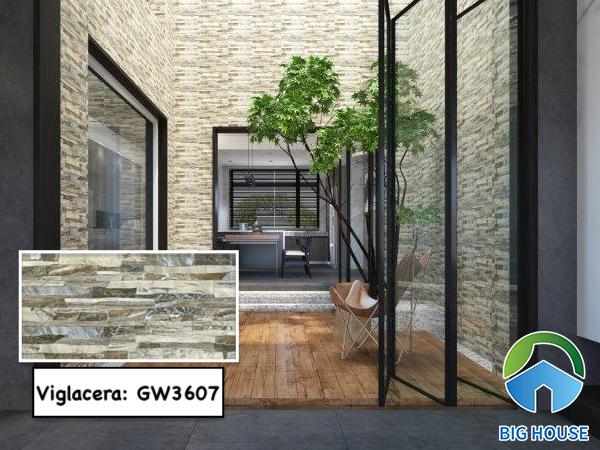 Gạch Viglacera GW3607 đảm bảo khả năng chống thấm, chống bám dính hiệu quả